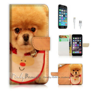 For-iPhone-8-Wallet-Case-Cover-P1505-Pussy-Dog
