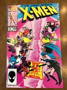 Marvel Comics Uncanny X-Men Issues 208-209 (1986) Hellfire Club Excellent Copies
