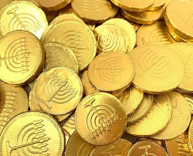 chocolate coins hanukkah history