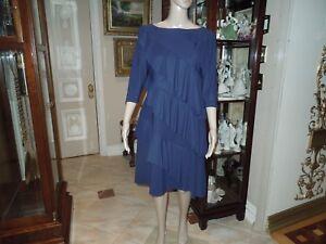 a2e32af9 Image is loading Chiara-Boni-La-Petite-Robe-Navy-Dress-10