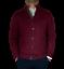 maglione-cardigan-uomo-classico-lana-cachemire-girocollo-zip-regular-fit-bottoni miniature 3