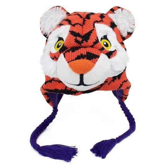 Buy Clemson Tigers Winter Ski Laplander Pilot Hat Cap Mascot Football Gift  online  d1ffb85ffcf