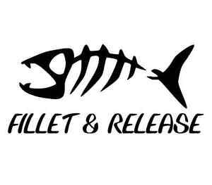 Fishing evolution decal bass car boat window bumper sticker perfect gift