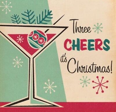 4 Vintage Style Christmas cards