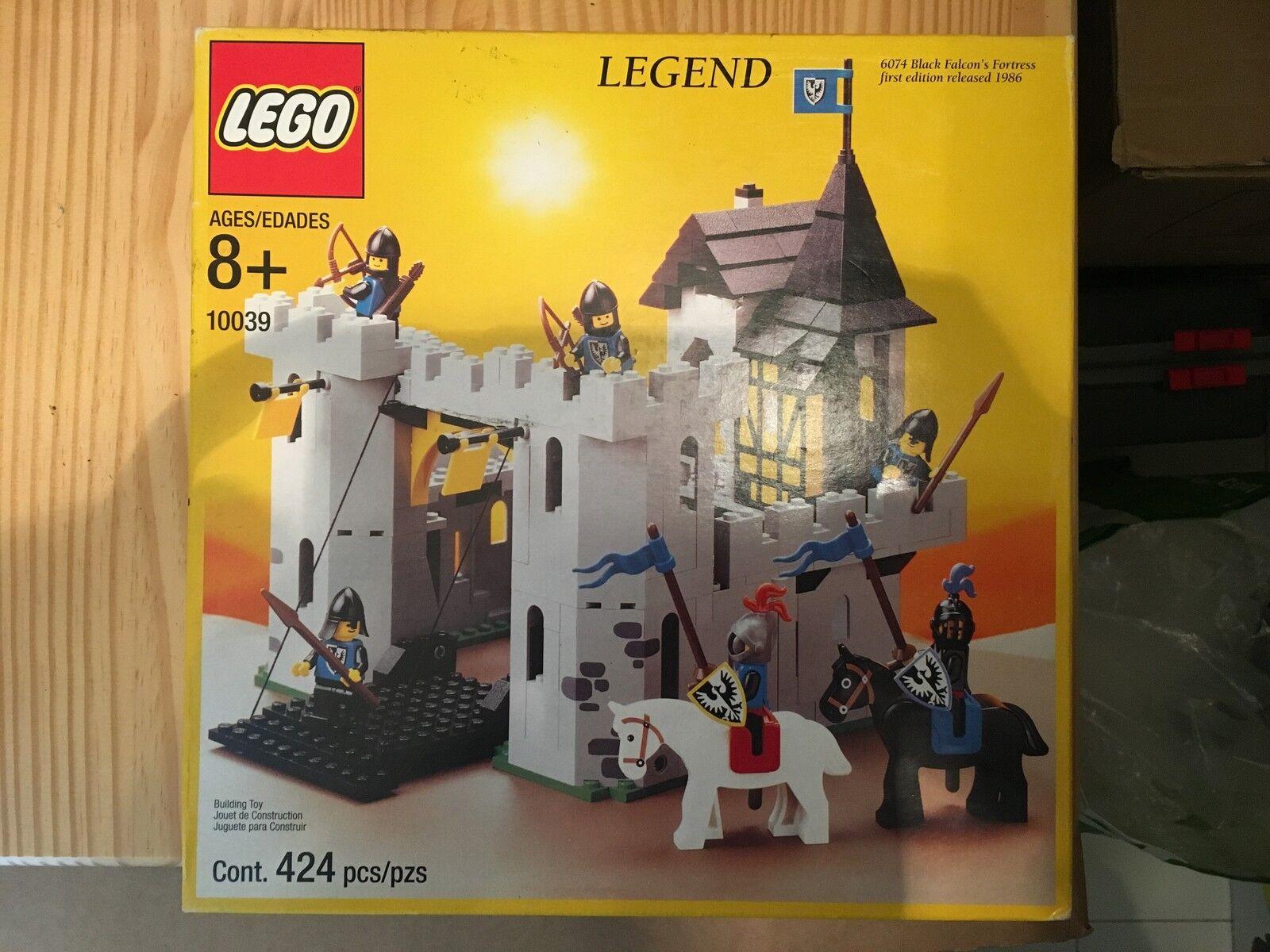 RARE SET LEGO 10039 BLACK FALCON FORTRESS NEW SEALED SEALED SEALED NEVER OPEN | Matériaux Sélectionnés Avec Soin  097dc8