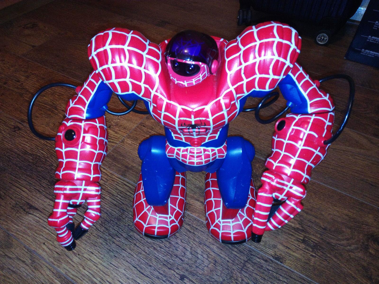 Wowwee Marvel Spiderman spidersapien Robosapien Robot RC Control Remoto Juguete 14