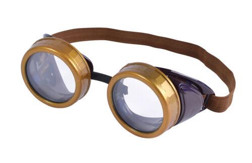 Steam Punk Googles//Flip Up Fancy Dress Adult Glasses 2 Variations