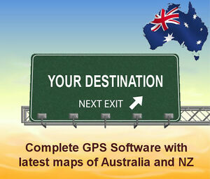 2021 GPS Software for WINDOWS CE gps units with latest Australian and NZ maps