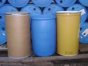 1-Blue-55-Gallon-plastic-non-food-barrel-drum-local-pickup-only-Zip-19007