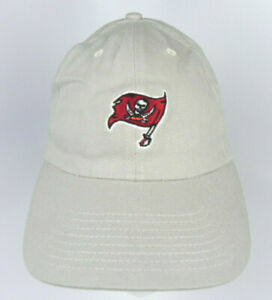 TAMPA-BAY-BUCS-NFL-KHAKI-ADJ-SLOUCH-UNSTRUCTURED-LOW-PROFILE-CAP-HAT-NEW