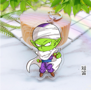 Japan Anime Dragon Ball Z Piccolo Acrylic Key Ring Pendant Keychain Gift