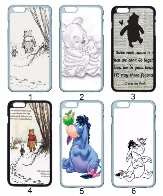 Winnie the Pooh Piglet Eeyore For Samsung Galaxy & Apple iPhone iPod Case Cover