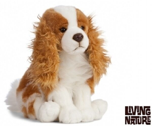 per Spaniel Peluche King Nature Charles cani Sitting Living con 27cm Rjq5L4A3