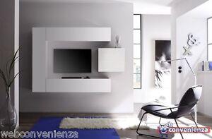 mobile porta tv Cube 1 D Parete Attrezzata Zona Giorno Mobile ...