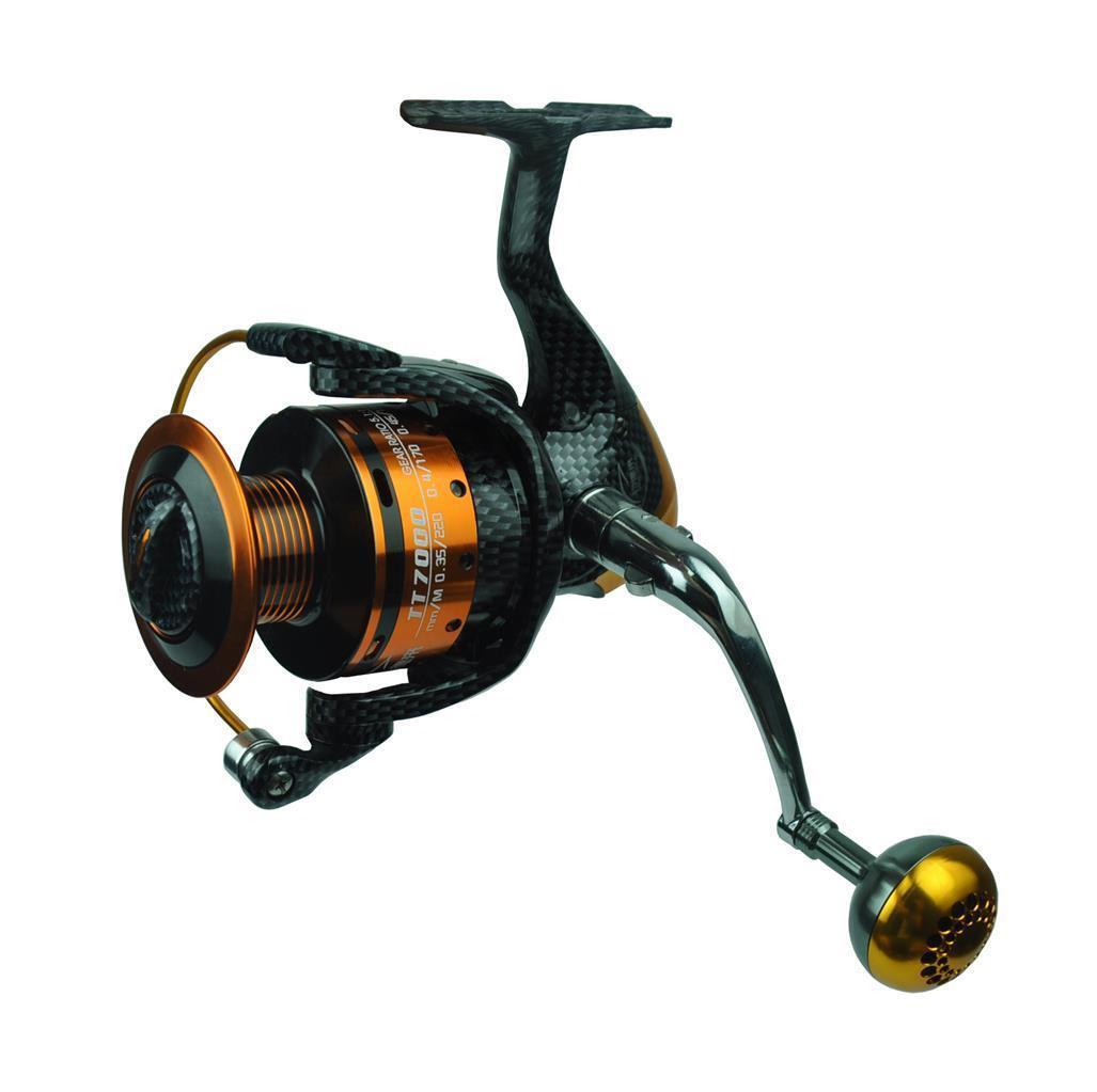 Spinning Fishing Reel , Sea Fish Reel 13BB Metal Interchangable  Handle TT7000  be in great demand