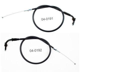 NEW MOTION PRO THROTTLE CABLES SUZUKI GSXR750 GSXR 750 GSX-R750 1996 1997