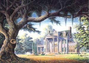 Gone With Wind Tara Rhett Scarlett Plantation Oak Tree Mint Signed Print Souders Ebay