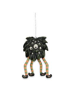 Bethany-Lowe-SWINGING-SPIDER-MONSTER-Halloween-Ornament-TD9071
