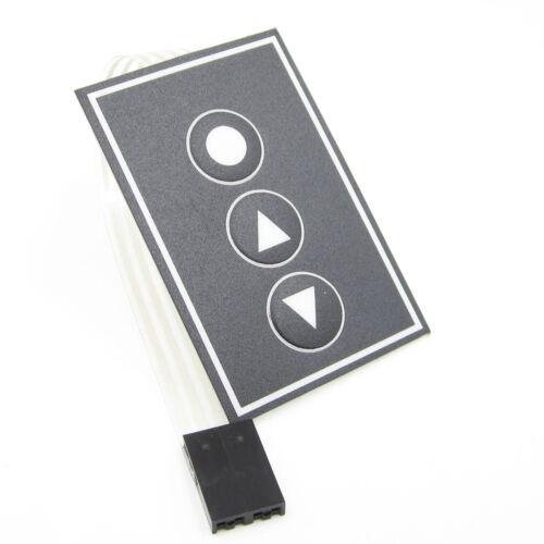 36*55mm 1x3 Matrix Array 3Key 1*3 Keys Membrane Switch Tastenfeld Keyboard L2KS