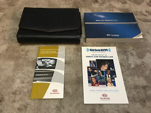 2014 Kia Sorento Owners Manual With Case OEM Free Shipping