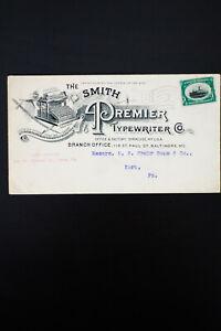 US-Smith-Typewriter-Stamped-Advertising-Cover