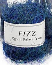 LOT 10 Crystal Palace Fizz Eyelash Yarn 9402 Ultramarine Blue Green Variegated