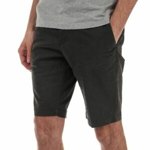 Men-039-s-Timberland-Squam-Lake-Stretch-Twill-Chino-Shorts-En-Noir