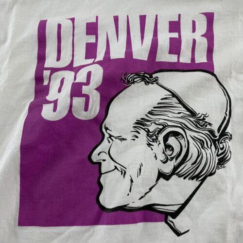 VTG Pope John Paul II Denver 1993 Short Sleeve Scr
