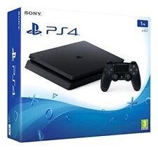 GUT: PlayStation 4 Konsole 1TB schwarz slim CUH-2016B Gaming Entertainment Sony
