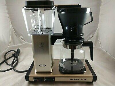 Moccamaster KBT Manual-Adjust Drip-Stop Coffee Maker |... 40 oz Thermal Carafe