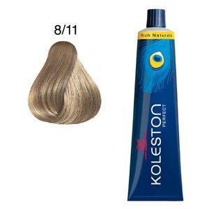 Wella Koleston Perfect Hair Color # 8/11 Light Blonde Ash Intensive ...