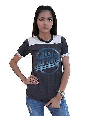 The Strokes Logo damen tank top lady T-shirt Shirt Rock Tee vest