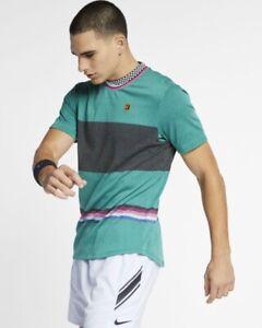 569c0cc6 Nike Court Challenger Men's Short-Sleeve Tennis Top. Large. Mystic ...