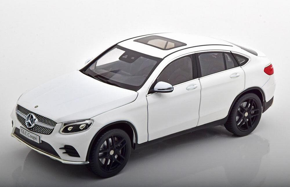 1 18 iScale Mercedes GLC-Class  Coupe 2018 Weiß