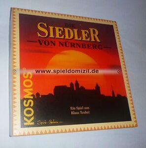 Die-SIEDLER-von-NURNBERG-Klaus-CATAN-Teuber-SPECIAL-EDITION-RARITAT-NEU