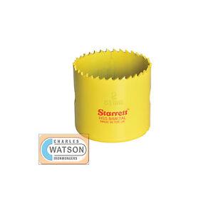 Starrett-43mm-Holesaw-High-Speed-Steel-Bi-Metal-Hole-Saw-HSS-Wood-Metal-Plastic