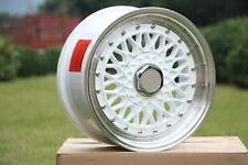 20 White Rs Style Staggered Rims Wheels Fits 5x1143 Amp 5x112 Mercedes Benz Audi
