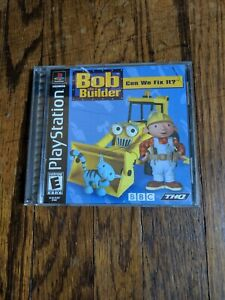 Bob-The-Builder-Can-We-Fix-It-Sony-PlayStation-PS1-Complete