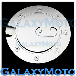 Chrome-ABS-Fuel-Gas-Tank-Cap-Door-Cover-Trim-For-05-09-Ford-Mustang