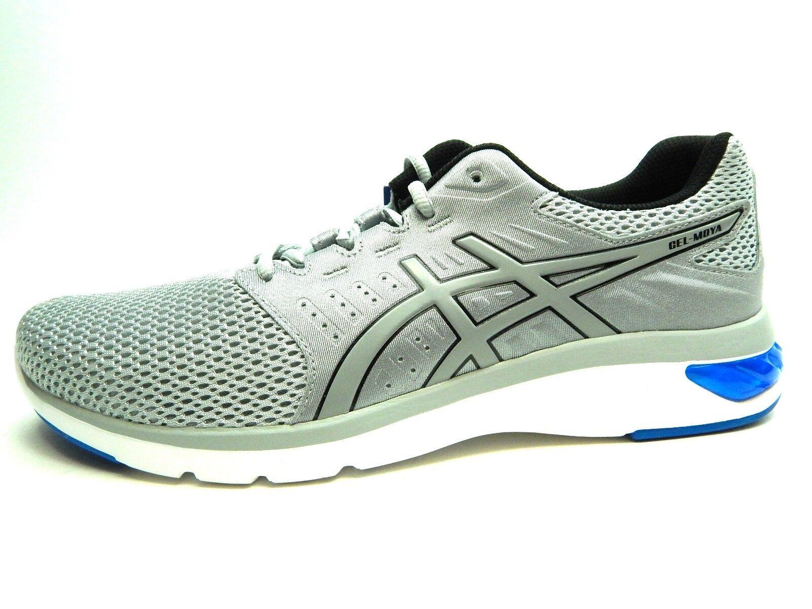 ASICS GEL MOYA T841N 9696 MID grigio VICTORIA blu MEN scarpe