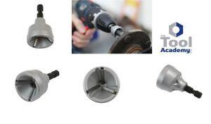 External-Deburr-Chamfer-Tool-3mm-19mm-Repair-Damaged-Bolts-Steel-Brass-Wood