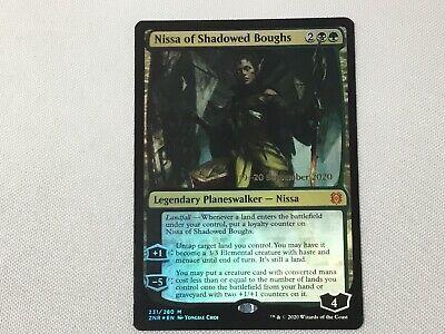 FOIL Prerelease - Sealed Nissa of Shadowed Boughs x1x Zendikar Rising MtG