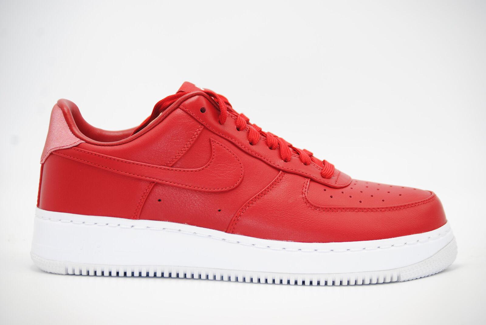 834b072f58d4 NikeLab Air Force 1 Low Af1 One Gym Red Leather Men SNEAKERS Nike ...