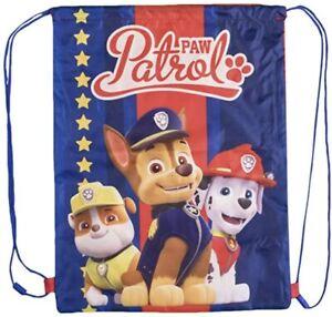 Paw Patrol Trainer Gym/PE Bag. Brand New