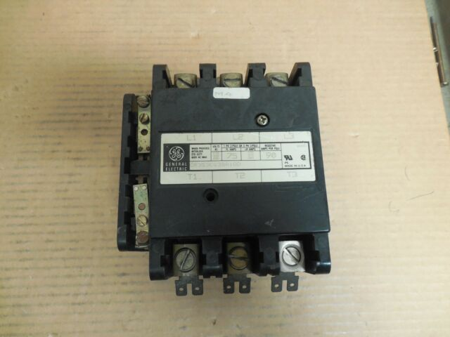 Ge General Electric Contactor Cr353eg3ba1dd 75a A Amp 120v