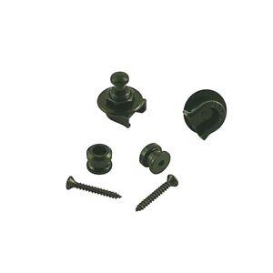 Genuine Grover Strap Locks Black GP800B