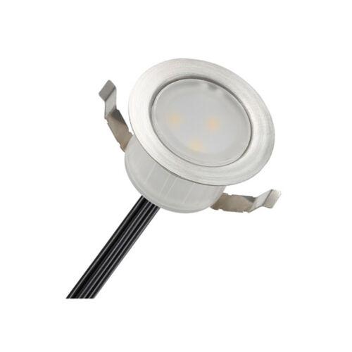 1//6//10//20//30//50 x 31mm Round LED Deck Recessed Plinth Lights Garden Lighting Kit