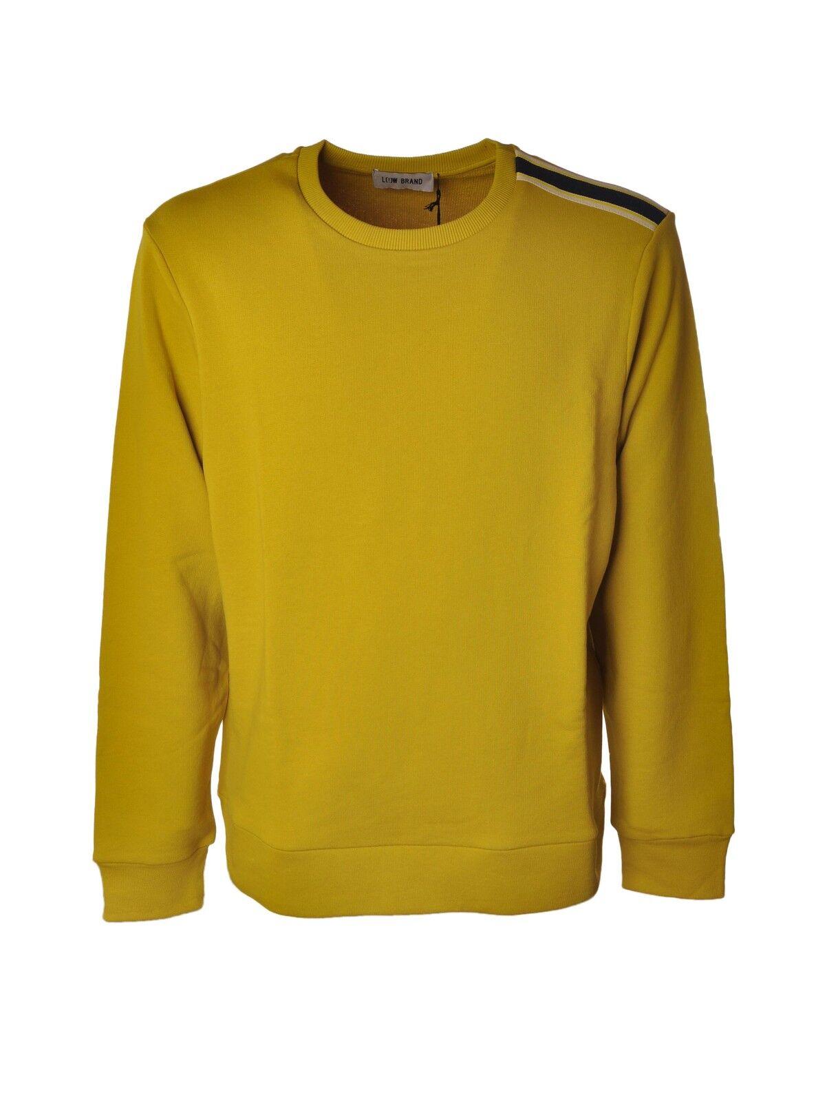 Niedrig Brand  -  Sweatshirts - Male - Gelb - 3831429A184751