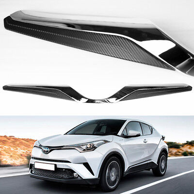 CHR SUV Hatcback For Toyota ABS Chrome /& Black Front Grille Japan Model