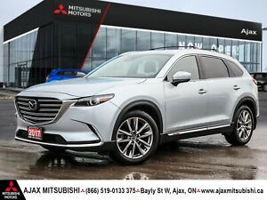2017 Mazda CX-9 SIGNATURE SERIES- FULLY LOADED! UNLIMITED KM WARRA